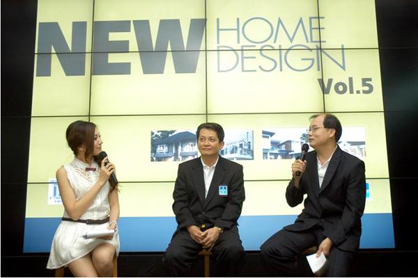 คุณวิบูล จันทรดิลกรัตน์ แถลงข่าวงานรับสร้างบ้าน 2011